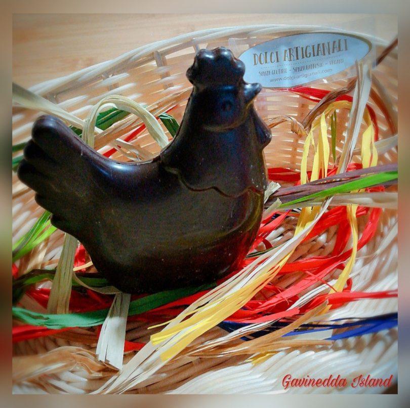 Gallina di cioccolato - Dolci Artigianali